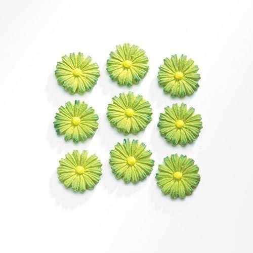 63805402 Цветы (полирезин), зеленый