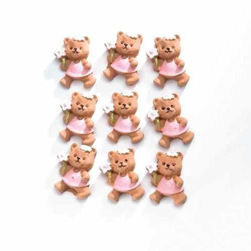63805451 Медвежата (полирезин), розовый