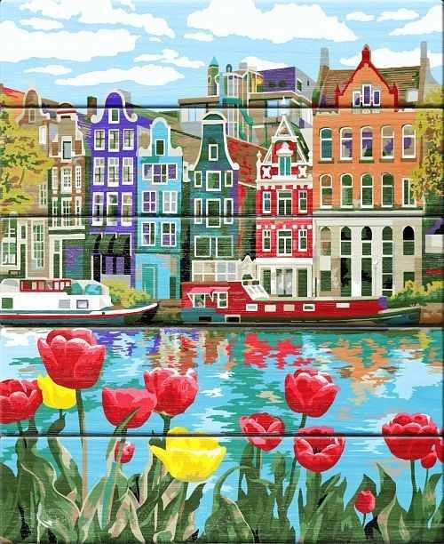 WN015 Весна в Амстердаме