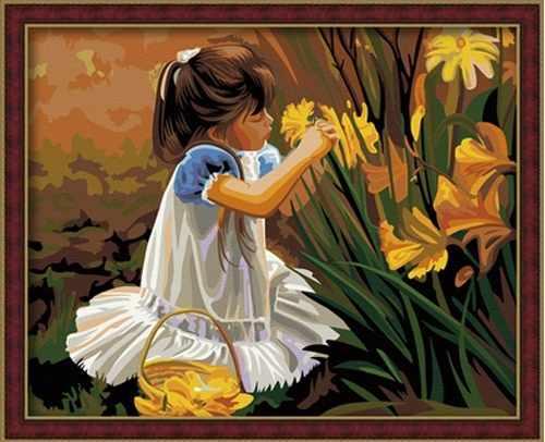 """MG030 """"Детство и цветы"""" - раскраска (Menglei)"""