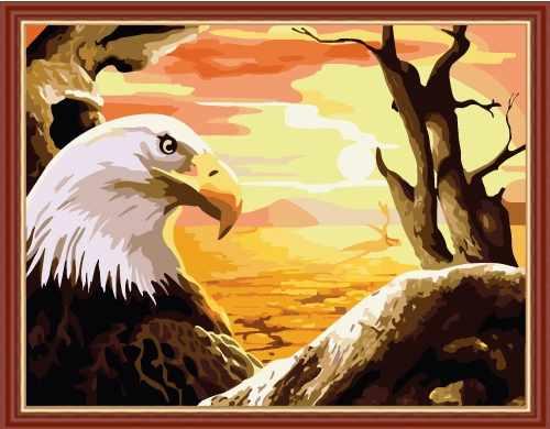 "MG179 ""Гордый орел"" - раскраска (Menglei)"