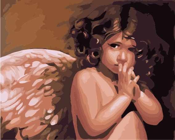 "MG295 ""Ангел"" - раскраска (Menglei)"