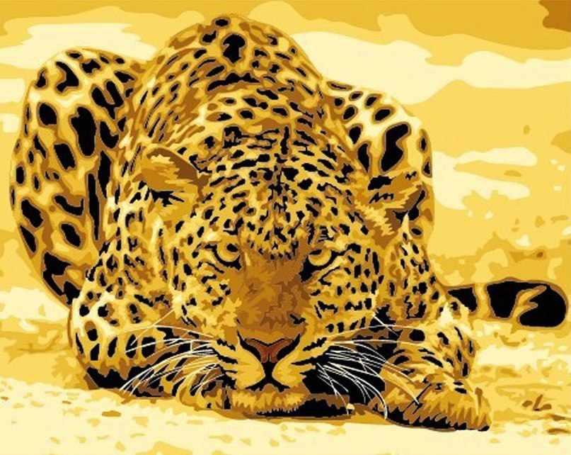 "MG305 ""Леопард"" - раскраска (Menglei)"