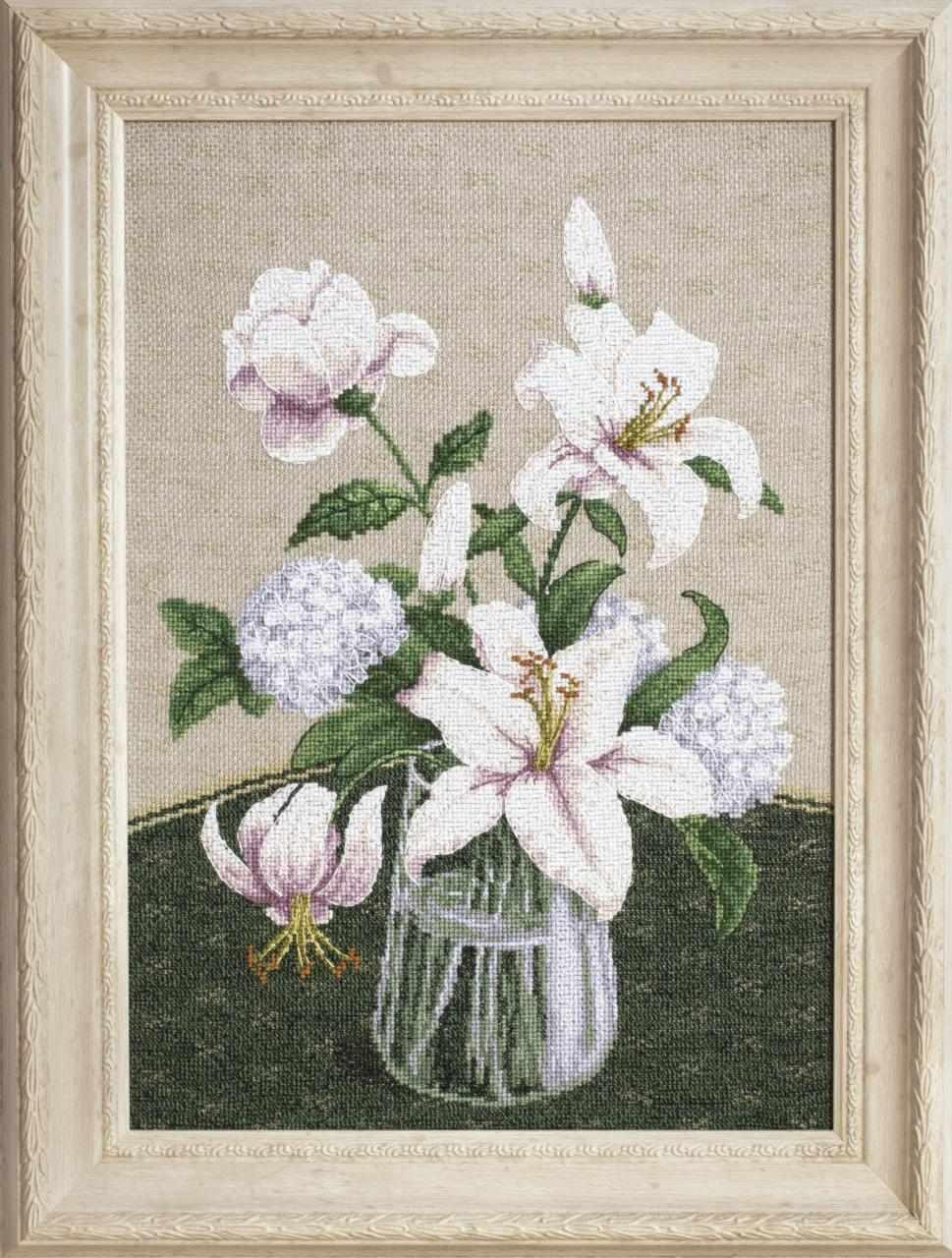 """М-280 """"Таинство белых цветов"""" - чм"""