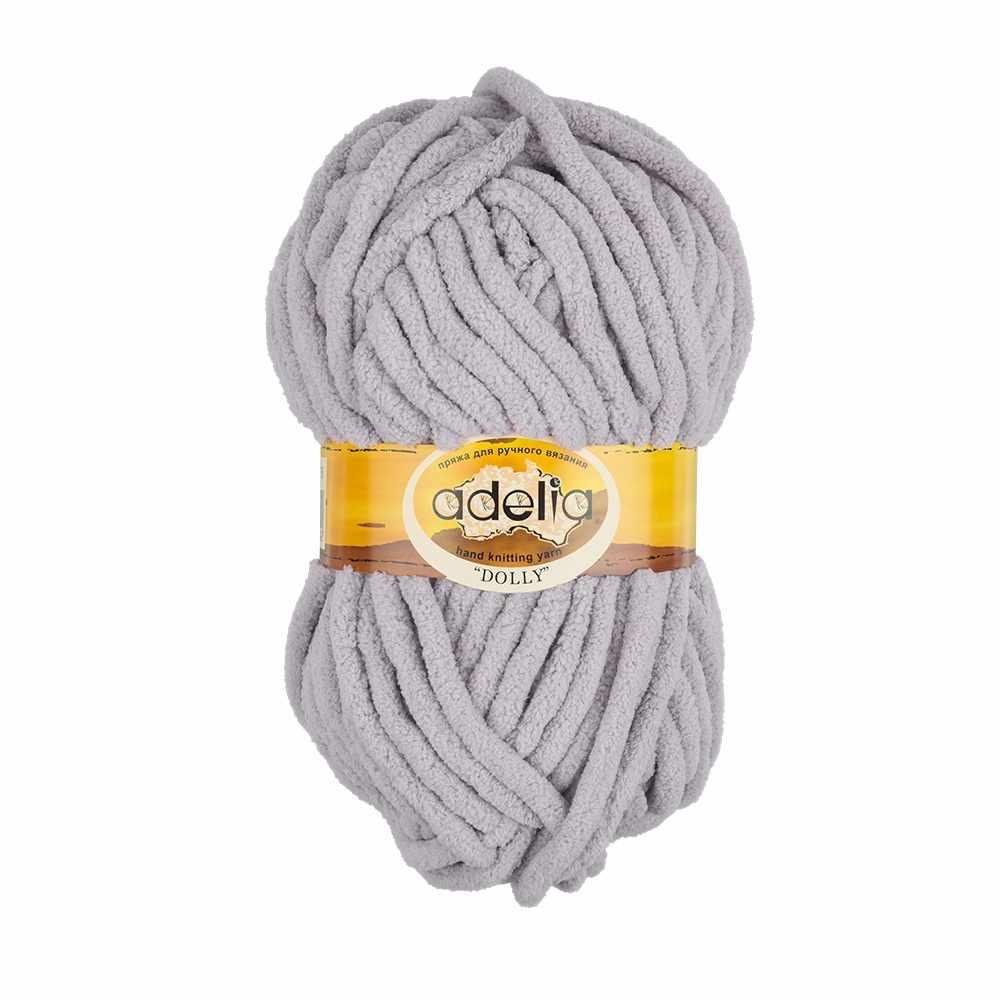 Пряжа Adelia Dolly 06 серый