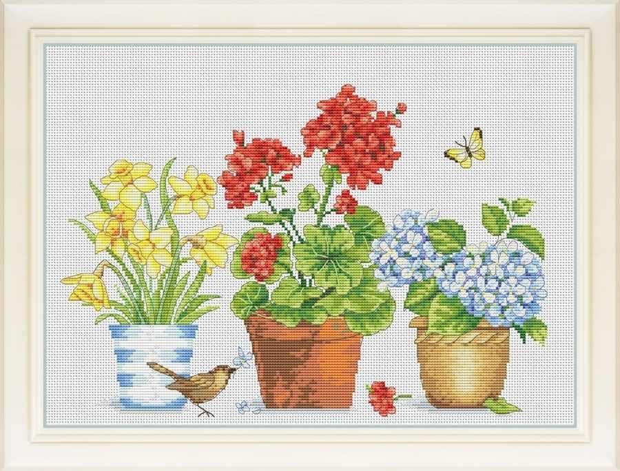 VN-075 Цветочное настроение