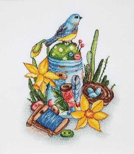 1262 Рукоделие-весна (Alisena)