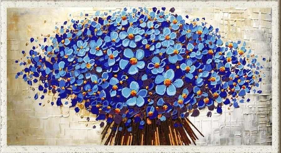 """НИК 8462 """"Цветочный декор 1"""" - схема для вышивания"""