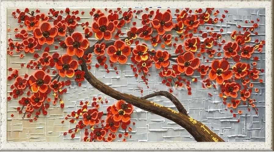 """НИК 8463 """"Цветочный декор 2"""" - схема для вышивания"""