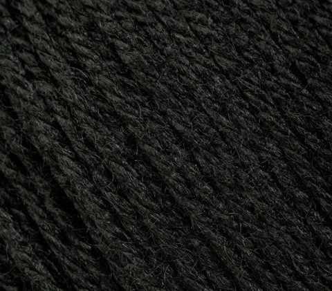 Пряжа GAZZAL Baby Wool Цвет.803 Черный