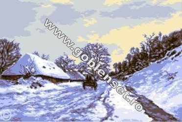 0895 Зима в Хонфиер