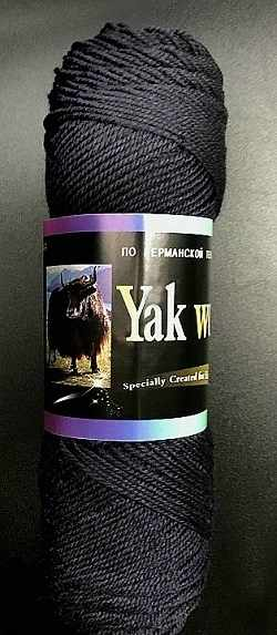 Пряжа Color City Yak Wool Цвет.2619 графит