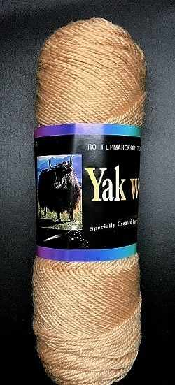 Пряжа Color City Yak Wool Цвет.801