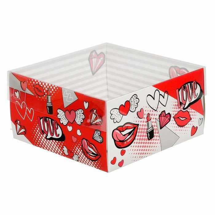 3506925 Коробка для кондитерских изделий «Стильно»
