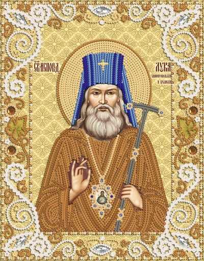 РИК-4033 Лука Святитель Архиепископ Крымский и Симферопольский - схема для вышивания (Марiчка)