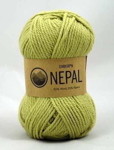 Пряжа DROPS Nepal Цвет.1477 Фисташковый