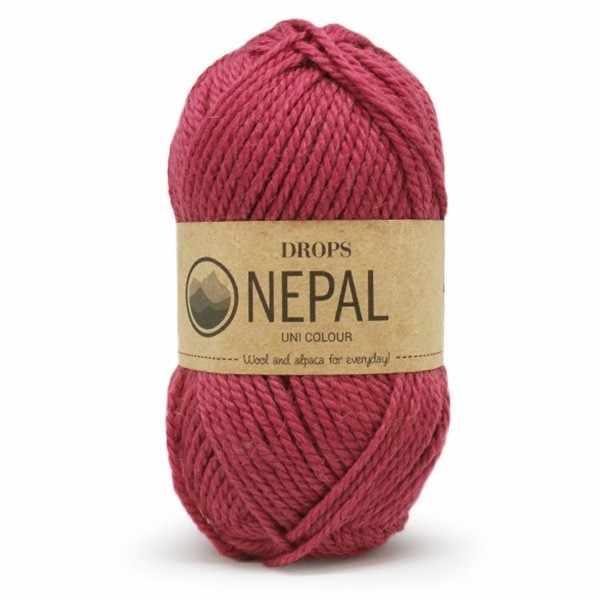 Пряжа DROPS Nepal Цвет.8910 Флокс