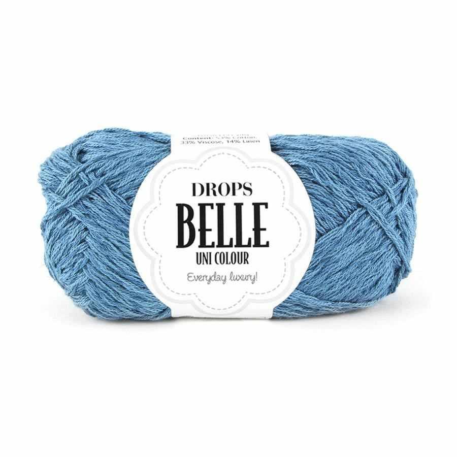 Пряжа DROPS Belle Цвет. 13 Серый джинс