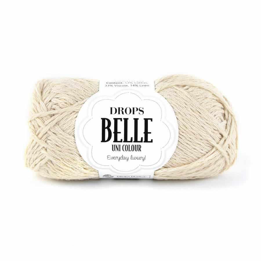 Пряжа DROPS Belle Цвет. 03 Натуральный