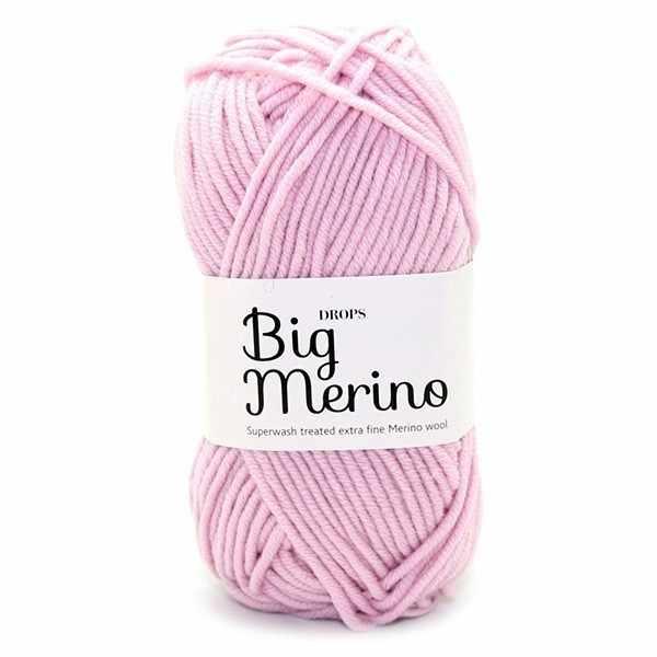 Пряжа DROPS Big Merino Цвет.16 Светло-розовый