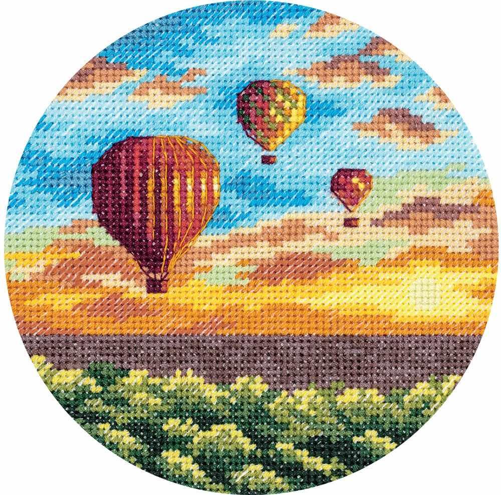 """ПС-7059 """"Воздушные шары на закате"""""""