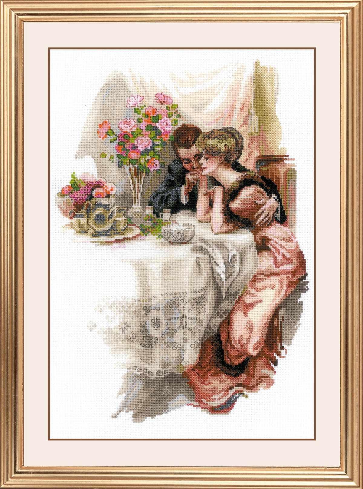 """1774 """"Первый вечер в собственном доме"""" по мотивам картины Х. Фишера"""""""