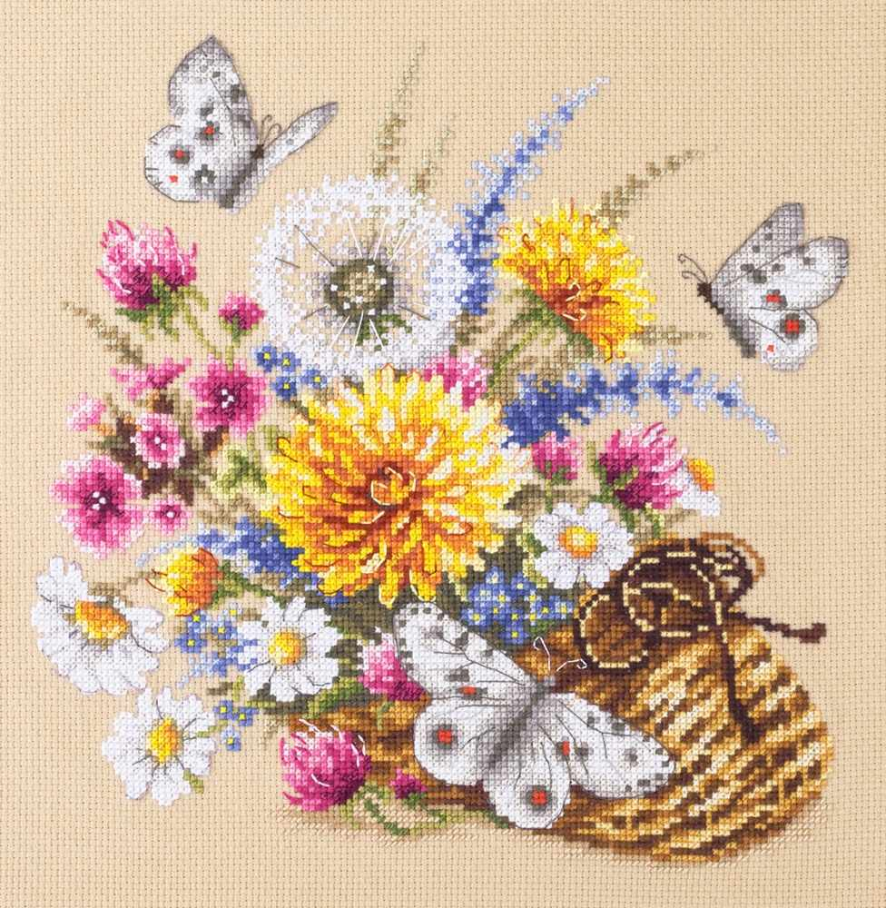 40-81 Луговые цветы