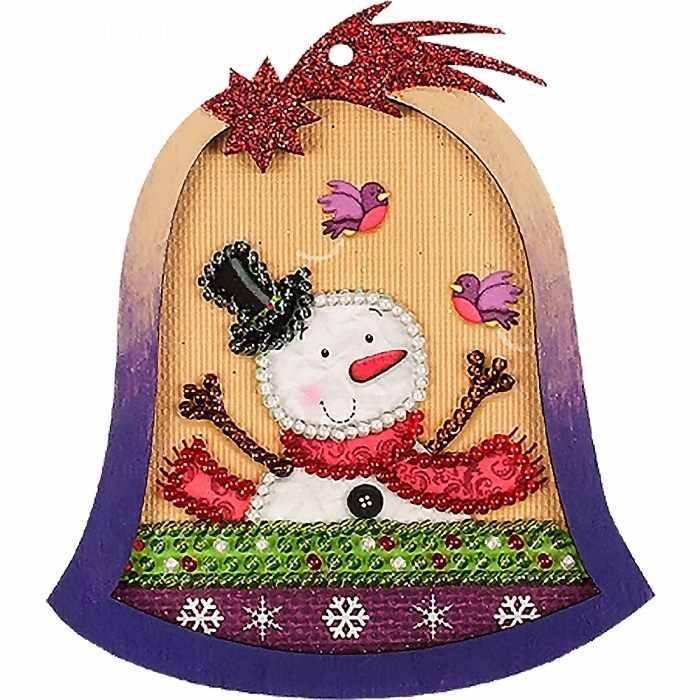 FLE-035 Ёлочная игрушка для вышивания бисером