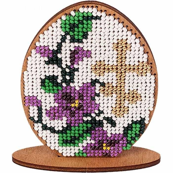 FLK-034 Набор для вышивания бисером по дереву