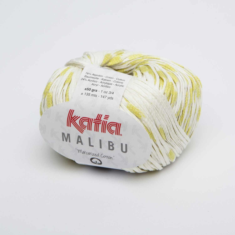 Пряжа Katia  Maliby Цвет.1016.70 бел.липа