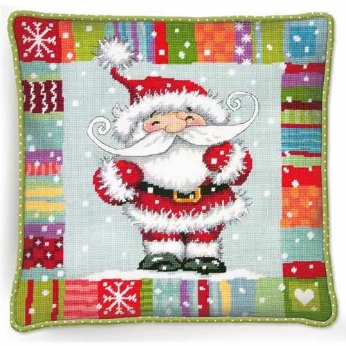 9157-DMS Узорчатый Санта