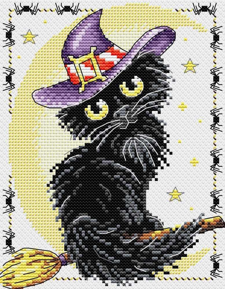 М-295 Очарование черной кошки