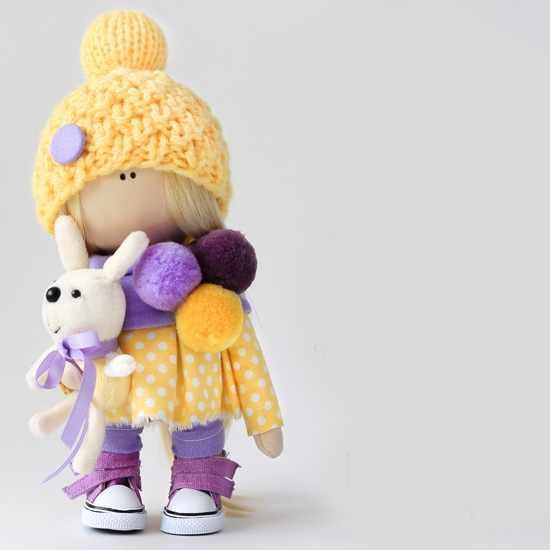 """Набор для создания текстильной игрушки """"Мила"""""""