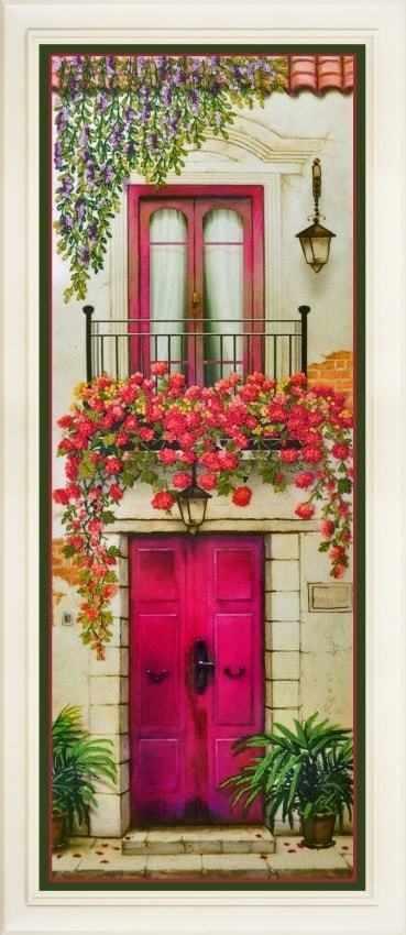 R-028 Цветущий балкон