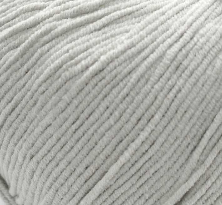 Пряжа YarnArt Jeans Цвет.49 Светло серый