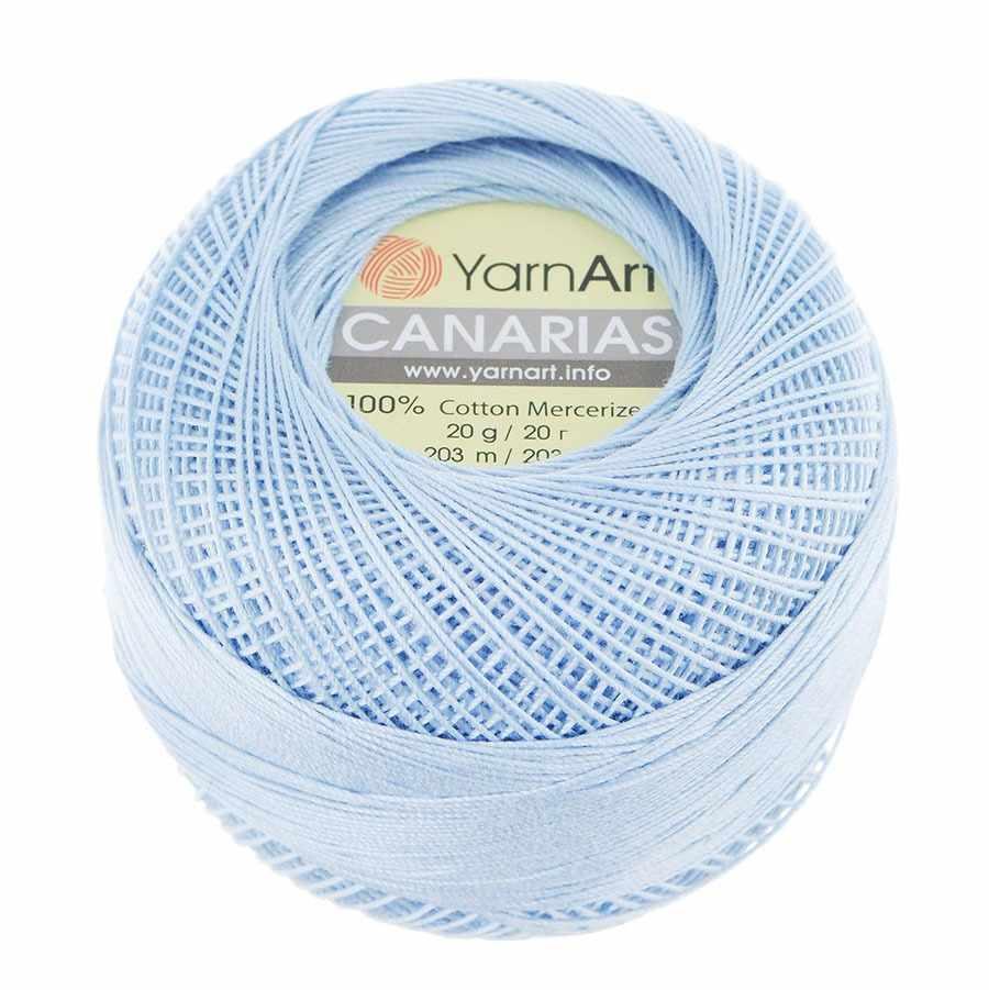 Пряжа YarnArt Canarias Цвет.4917 Незабудка