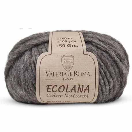 Пряжа Valeria di Roma Ecolana Цвет.067 Темно серый