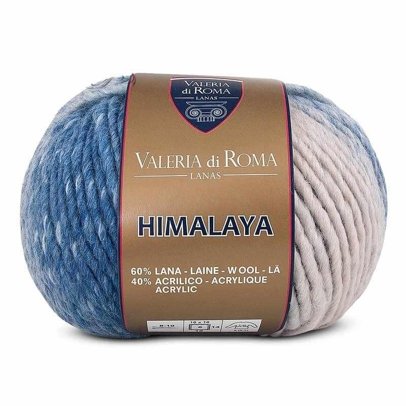 Пряжа Valeria di Roma Himalaya Цвет.225 Бел.голубой мел
