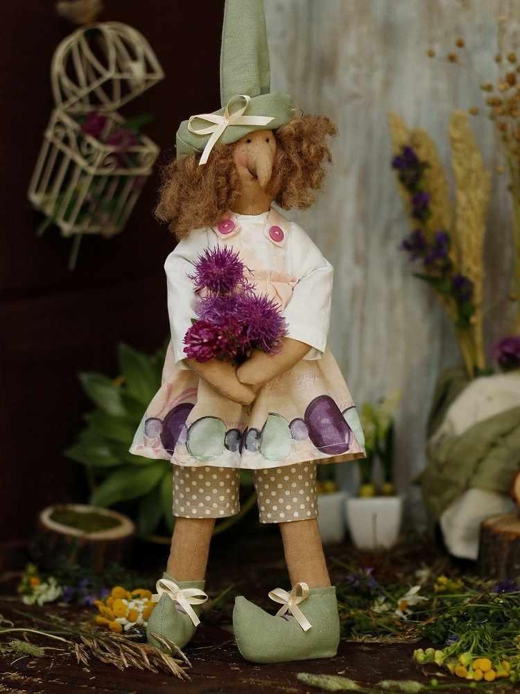 Ш043 Набор для шитья и рукоделия Ведьмочка Вильма