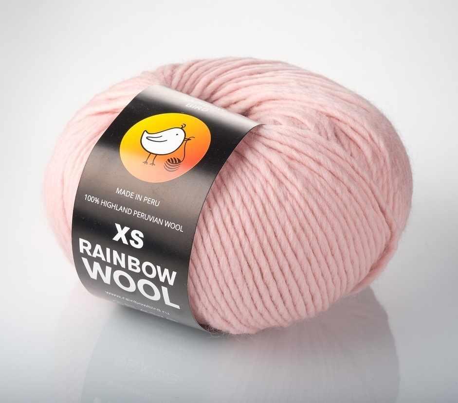 Пряжа RAINBOW BIRD XS RAINBOW WOOL Цвет.Quartz