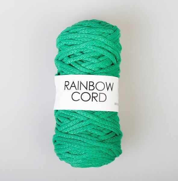 Пряжа RAINBOW BIRD RAINBOW CORD Цвет.Green