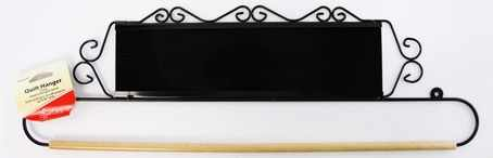 ERQH33.20BLK Хангер для панно и вышивки, ширина 50,8 см