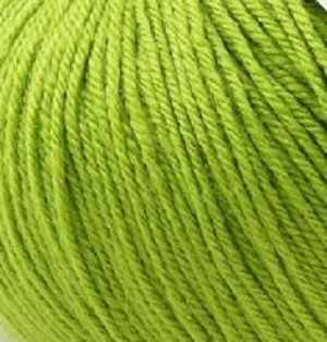 Пряжа GAZZAL Baby Wool Цвет.838 Молодая зелень