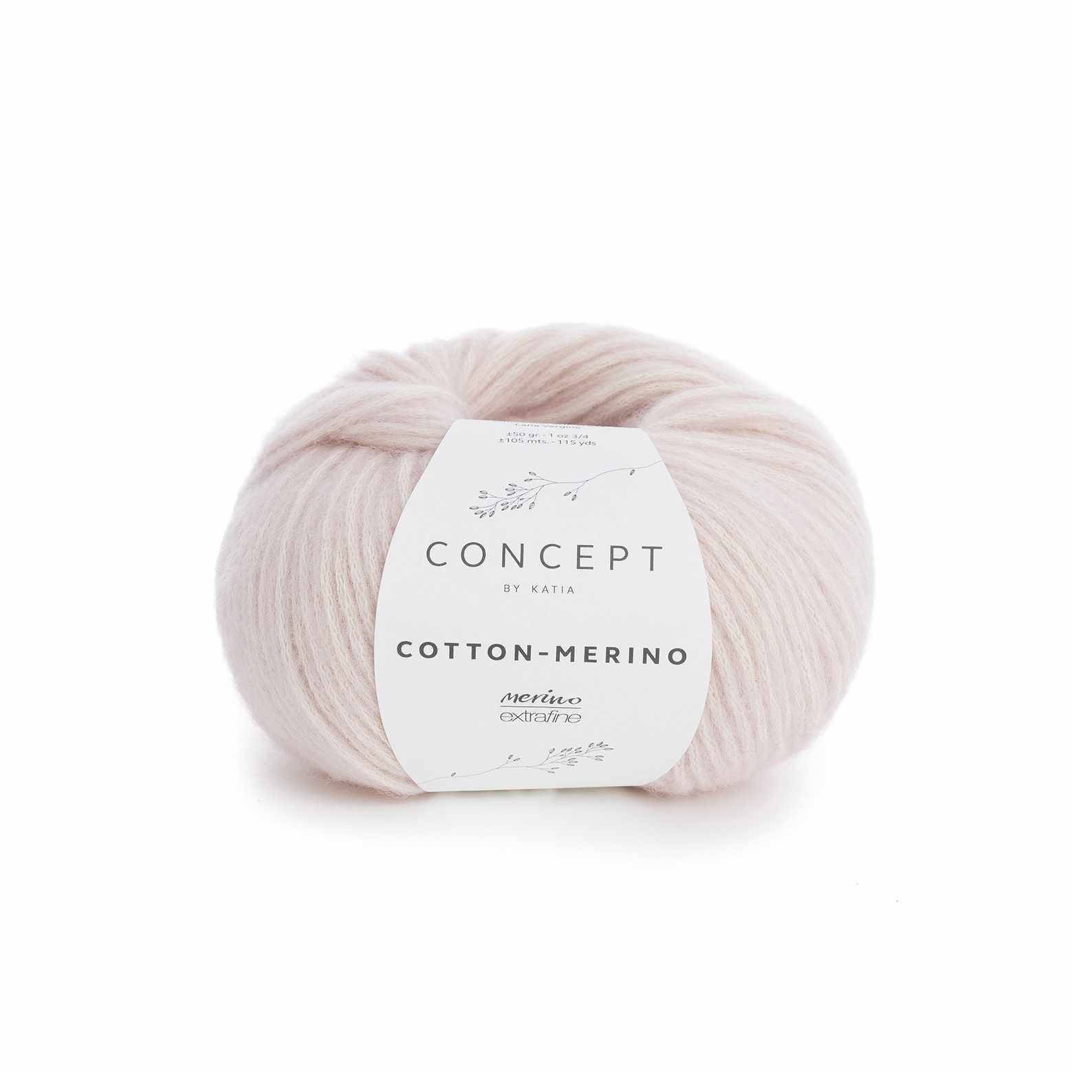 Пряжа Katia Cotton-Merino Цвет.929.103