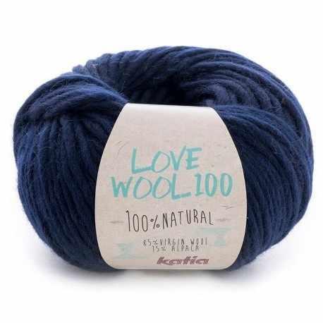 Пряжа Katia Love Wool Цвет.1098.213
