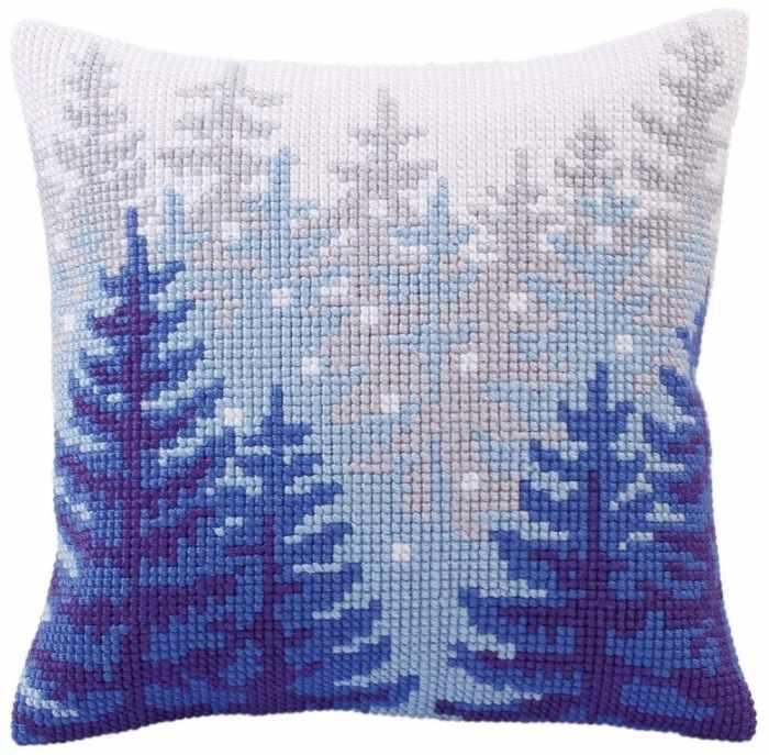 5304 Подушка для вышивания (Белая)
