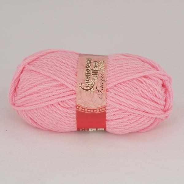 Пряжа Семеновская Глазго Цвет.79 Ярко-розовый