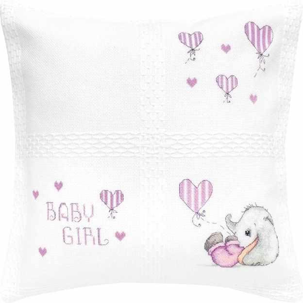 PB188 Подушка Baby girl