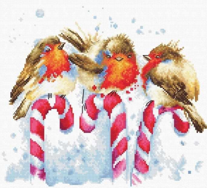 B1154 Рождественские птицы (Luca-S)