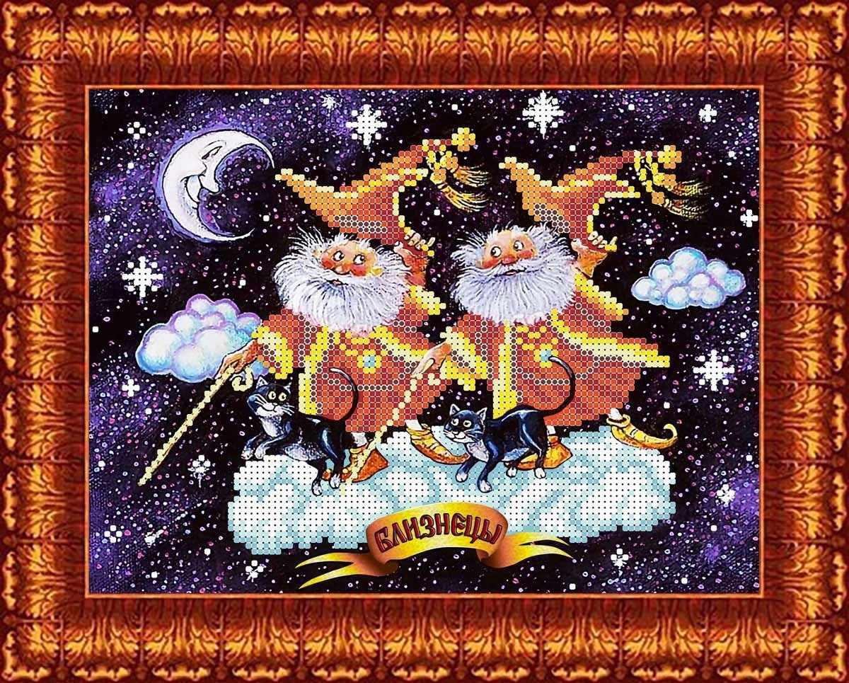КБЗ 4020 Близнецы веселые - схема для вышивания (Каролинка)